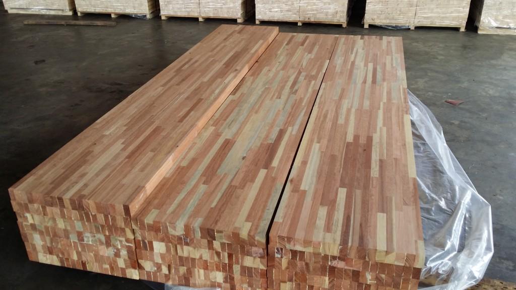 Kempas lamination board