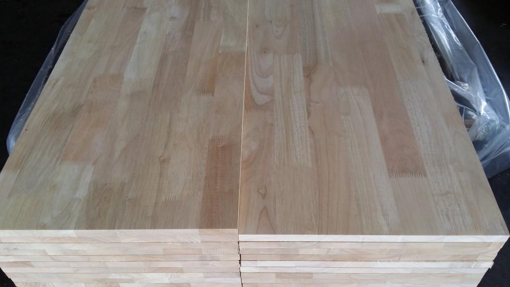 Rubber plantation wood
